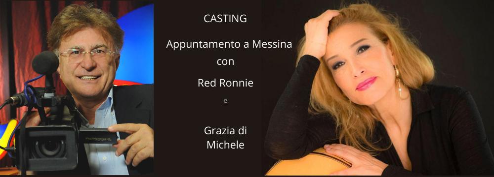 21 e 22 settembre, Casting a Messina con Red Ronnie e Grazia Di Michele: Musica del Sole